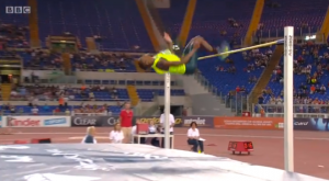 mutazs barshim rome diamond league